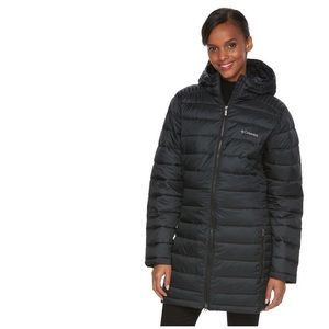 COLUMBIA Frosted Ice Long Hood Puffer Jacket Coat